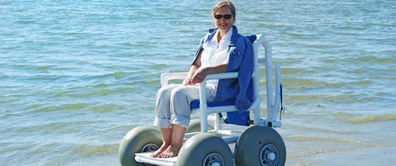 Eiland voor rolstoelgebruikers