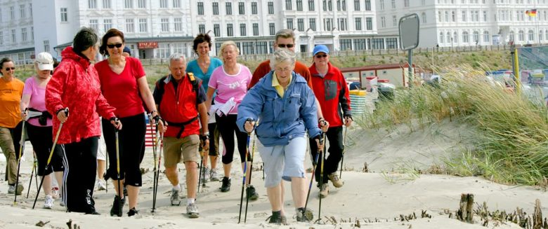 Nordic en beachwalking