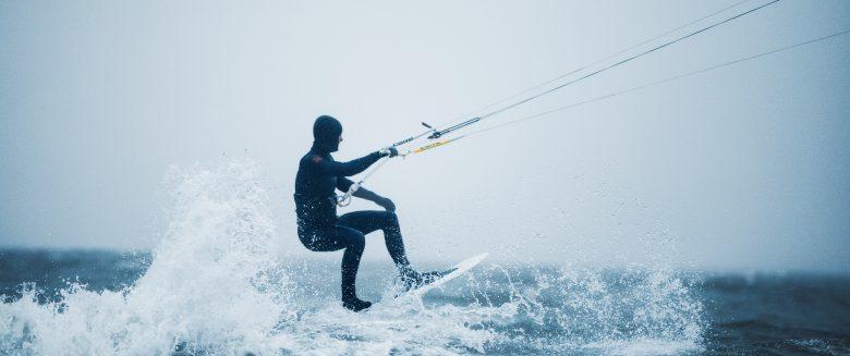 Kiten auf Borkum