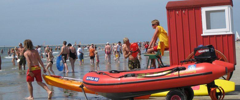 Informationen zu den Badestränden auf der Nordseeinsel Borkum