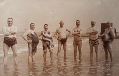 Männermode aus den 20er Jahren