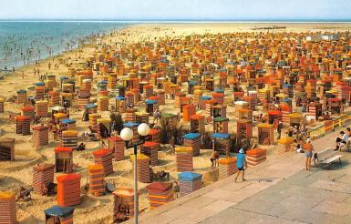 Strandzelte aus dem 70er Jahren