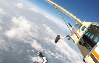 Fallschirmspringen auf Borkum
