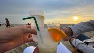 Cocktails am Nordstrand Borkum